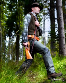 Hunting, fishing and forestry footwear